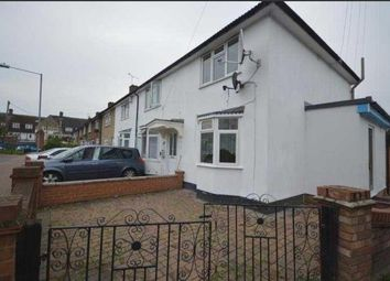 Thumbnail 4 bed semi-detached house to rent in Sheppey Road, Romford