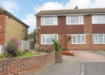 Thumbnail 3 bed semi-detached house for sale in Augustine Road, Minster, Ramsgate