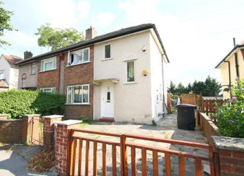 Thumbnail 3 bed semi-detached house for sale in Martin Crescent, Croydon