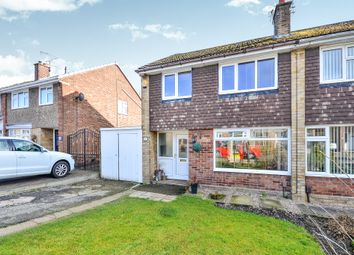 Thumbnail 3 bed semi-detached house for sale in Kent Road, Giltbrook, Nottingham