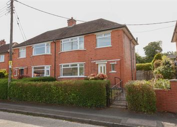 Thumbnail 3 bed semi-detached house for sale in 72, Woodlands, Holywood