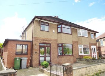 Thumbnail 5 bed semi-detached house for sale in Woodway, Greasby, Wirral