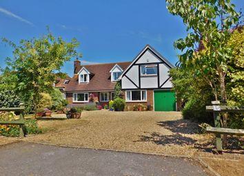 Thumbnail 4 bed detached house for sale in Berry Lane, Stubbington, Fareham