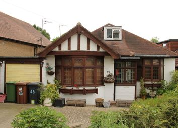 Thumbnail 4 bed detached bungalow for sale in Caldecote Gardnes, Bushey Heath, Hertfordshire