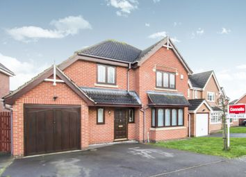 Thumbnail 4 bedroom detached house for sale in Oakridge Close, Hamilton, Leicester