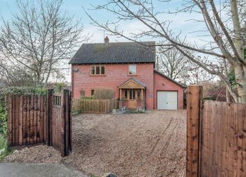 Thumbnail 3 bed detached house for sale in Long Lane, Feltwell, Thetford