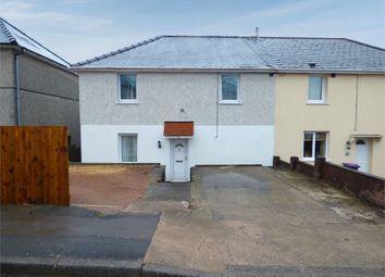 Thumbnail 3 bed semi-detached house for sale in Hillcrest, Garndiffaith, Pontypool, Torfaen
