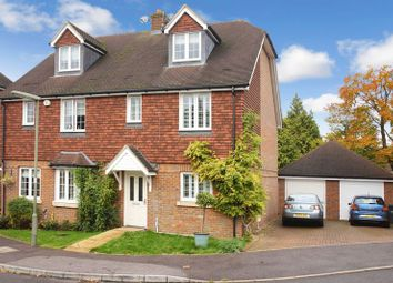 Thumbnail 4 bedroom semi-detached house for sale in Rowan Close, Banstead