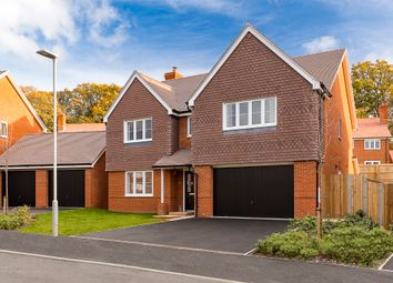 Thumbnail 5 bed detached house for sale in Horseshoe Crescent, Longham