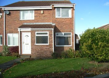 Thumbnail 2 bed terraced house to rent in Fox Howe, Coulby Newham, Middlesbrough
