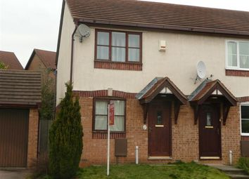 Thumbnail 2 bed semi-detached house to rent in Hatfield Close, Wellingborough