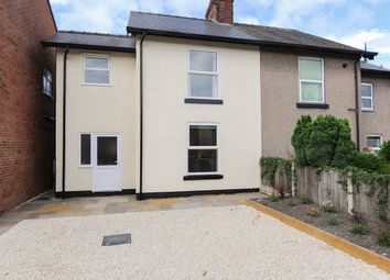 Thumbnail 2 bed semi-detached house to rent in Park View, Hasland, Chesterfield