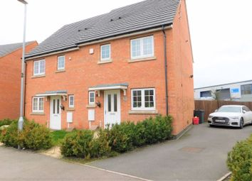 Thumbnail 2 bed semi-detached house for sale in Discovery Close, Coalville