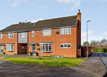 Thumbnail 4 bed semi-detached house for sale in St. Catharines Way, Houghton-On-The-Hill, Leicester