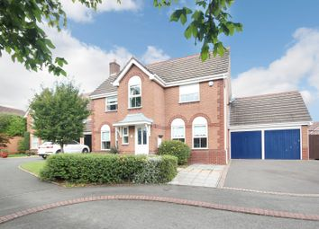 Hazelton Close, Hillfield, Solihull B91. 4 bed detached house