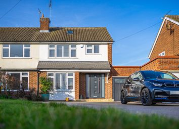 Thumbnail 4 bedroom semi-detached house for sale in Barnfield Close, Hoddesdon