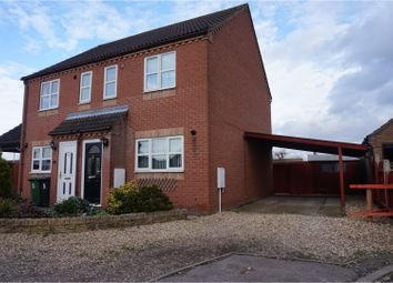 Thumbnail 2 bed semi-detached house for sale in Peddars Court, Watton