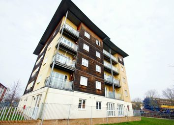 Thumbnail 1 bed flat to rent in Heol Staughton, Cardiff