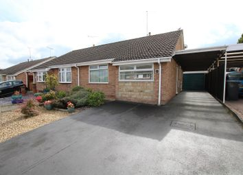 Thumbnail 2 bedroom semi-detached bungalow for sale in The Eyrie, Burton-On-Trent