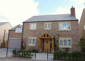 Thumbnail 4 bed detached house for sale in The Old Coachyard, Navenby, Lincoln