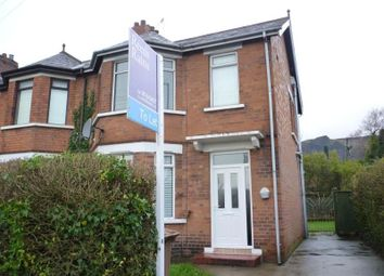 Thumbnail 3 bed semi-detached house to rent in Shore Road, Belfast