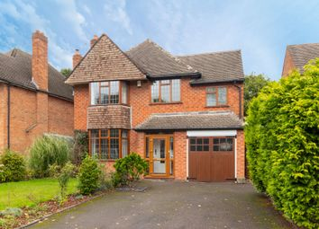 Thumbnail 4 bed detached house for sale in Grosvenor Road, Shirley, Solihull
