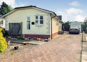 Thumbnail 3 bed mobile/park home for sale in Lonsborough Gardens, Langham, Oakham