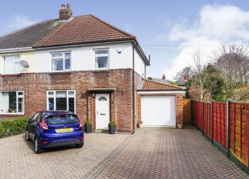 Thumbnail 3 bed semi-detached house for sale in Carrfield Road, Leeds
