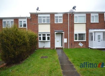 Thumbnail 3 bed terraced house to rent in Long Furrow, Pendeford, Wolverhampton