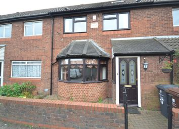 Thumbnail 3 bed terraced house to rent in Coral Close, Chadwell Heath, Romford