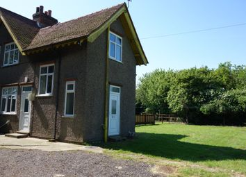 Thumbnail 3 bed semi-detached house to rent in Fressingfield Road, Laxfield, Woodbridge