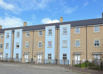 Thumbnail 4 bed town house for sale in Buttercup Avenue, Eynesbury Manor, St Neots, Cambridgeshire