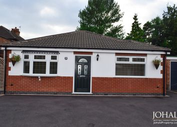 Thumbnail 2 bed bungalow for sale in Gwendolin Avenue, Leicester, Leicestershire