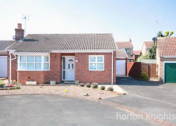 Thumbnail 2 bedroom detached bungalow for sale in Torne Close, Bessacarr, Doncaster