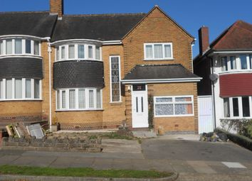 Thumbnail 3 bed semi-detached house to rent in Manor House Lane, Sheldon, Birmingham