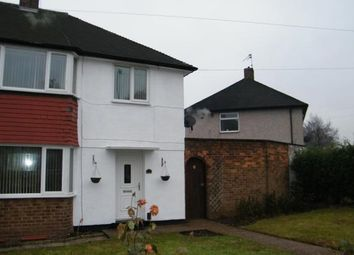 Thumbnail 3 bed semi-detached house to rent in Farnborough Road, Clifton, Nottingham