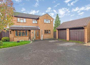 Thumbnail 4 bed detached house for sale in Brampton Close, Kettering