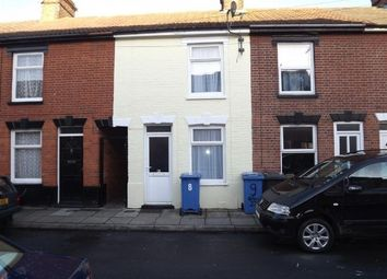 Thumbnail 2 bed terraced house to rent in Gibbons Street, Ipswich