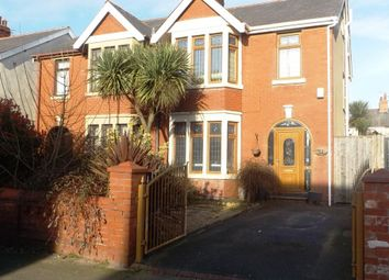 Thumbnail 3 bed semi-detached house for sale in Wetherby Avenue, Blackpool