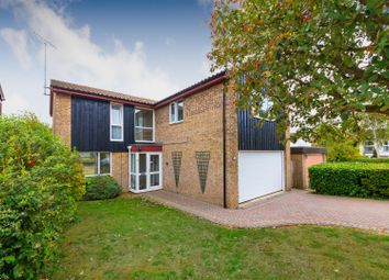Thumbnail 5 bed detached house for sale in Farthing Drive, Letchworth Garden City