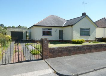 Thumbnail 3 bed detached bungalow for sale in Hermitage Drive, Dumfries