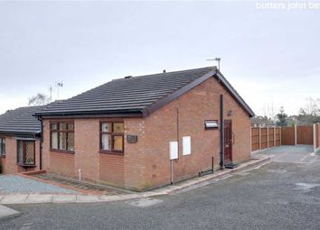 Thumbnail 2 bed semi-detached bungalow to rent in The Poplars, Cannock, Staffordshire
