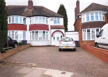 Thumbnail 3 bed semi-detached house for sale in The Coppice, Handsworth Wood, Birmingham, West Midlands