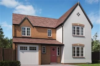 Thumbnail 4 bed detached house for sale in Efflinch Lane, Burton-On-Trent