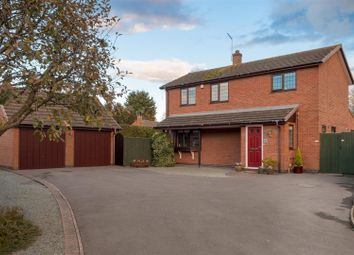 Thumbnail 4 bed detached house for sale in The Meadow, Broughton Astley, Leicester