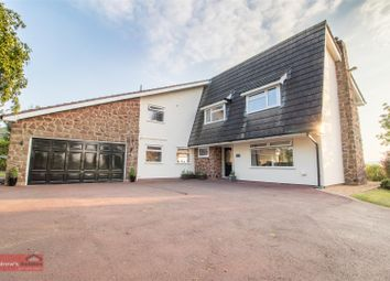 Thumbnail 4 bed detached house for sale in Station Road, Burton, Neston