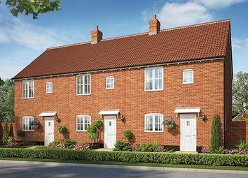 Thumbnail 2 bedroom semi-detached house for sale in Cromer Road, Holt, Norfolk