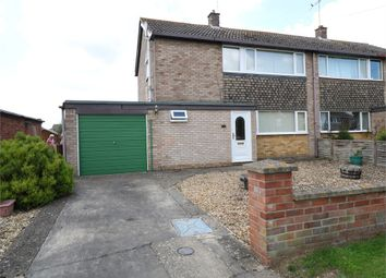 Thumbnail 3 bed semi-detached house for sale in Kingsway, Bourne, Lincs