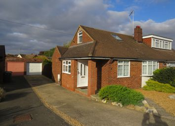 Thumbnail 1 bedroom semi-detached bungalow for sale in Chapterhouse Road, Luton