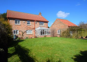 Thumbnail 4 bed detached house for sale in Scarborough Road, West Heslerton, Malton